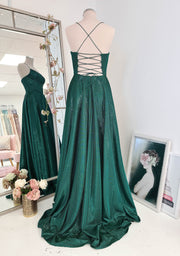Dominica Gown Emerald