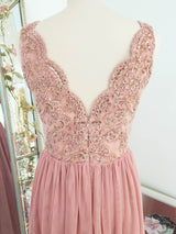 Chiara Tulle Gown Powder Pink