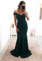 Mona Gown Emerald Green