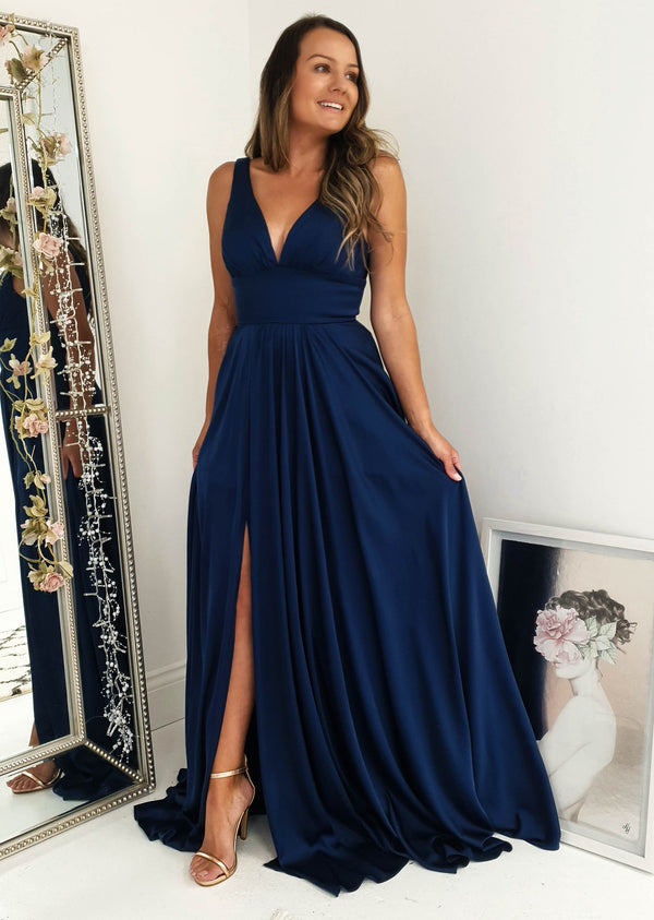Ravena Gown Navy
