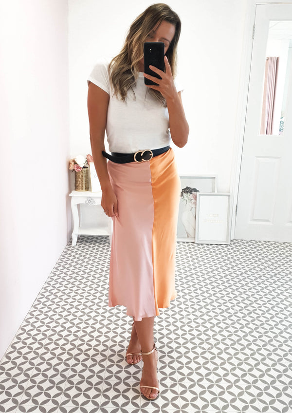 Sherbert Midi Skirt Multi