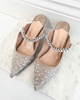 Lisbeth Embellished Kitten Heel
