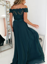 Mia Gown Hunter Green