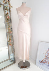 Belle Rose Midi Dress Champagne