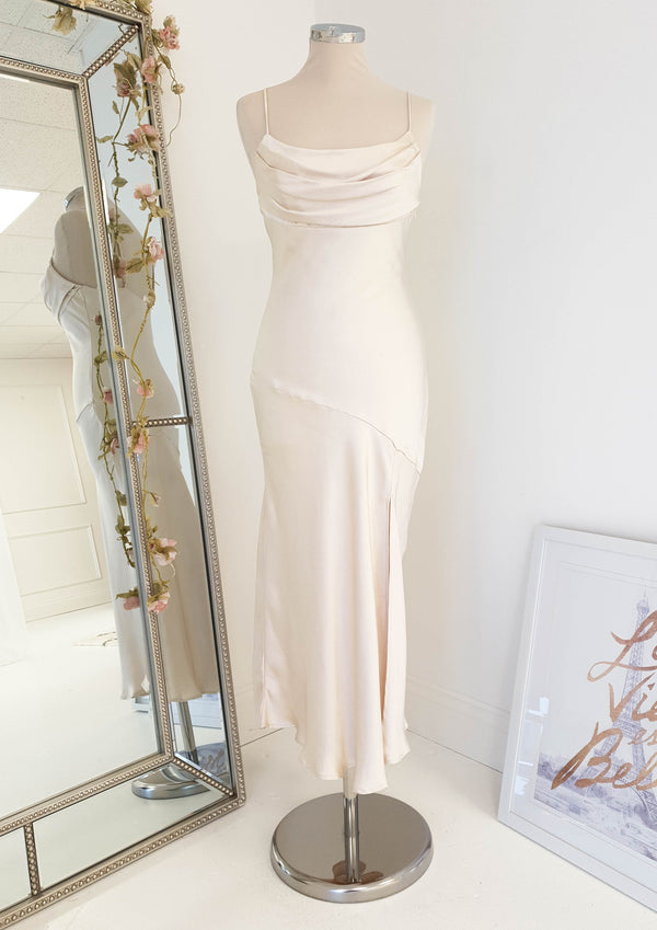 Zarita Midi Dress Champagne