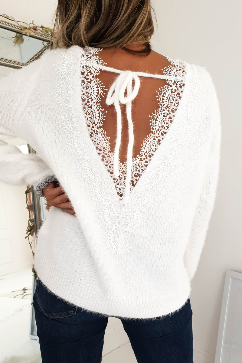 Maisie Soft Lace Jumper