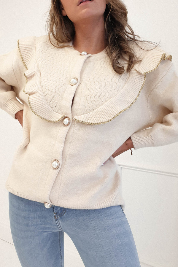 Danna Oversized Knitted Cardigan