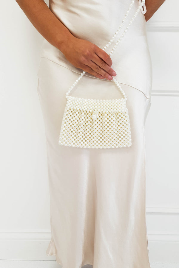 Susi Mini Pearl Cross Body Bag