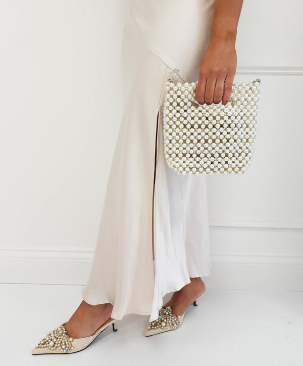 Elouise Pearl Bucket Bag