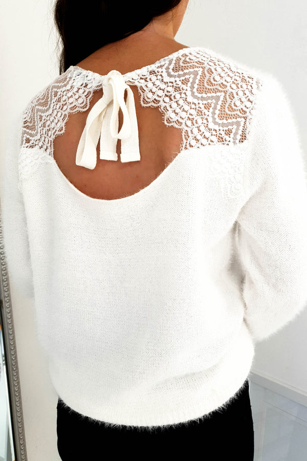 Amanda Soft Lace Jumper