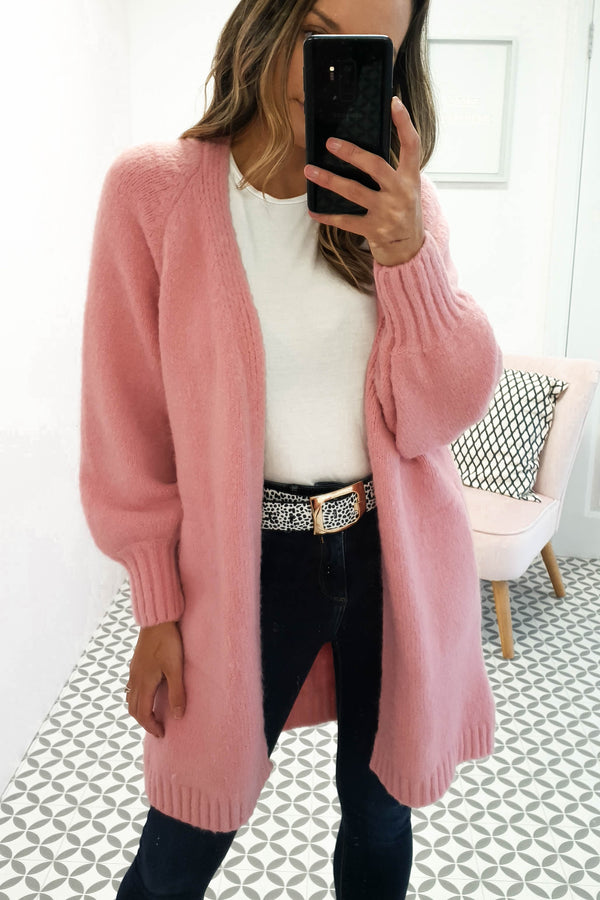Renee Soft Pink Cardigan