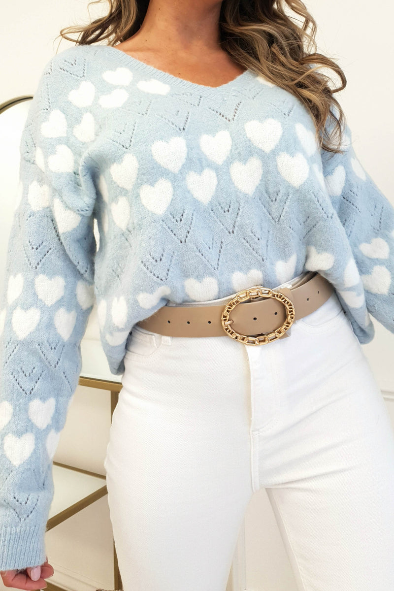 Mi Amore Jumper | Blue