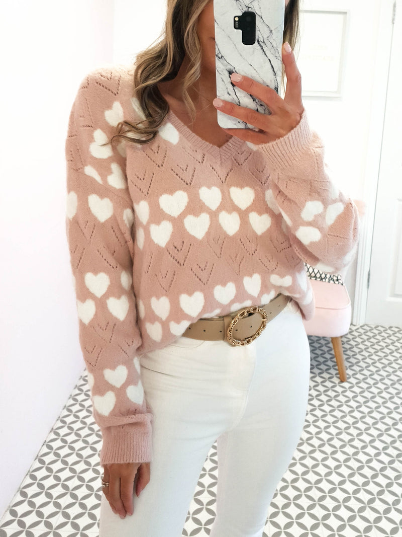 Mi Amore Jumper | Rose