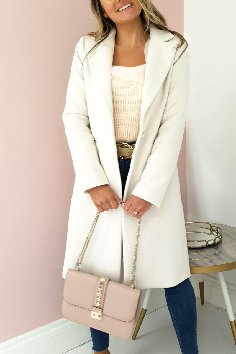 Celine Soft Coat | Cream