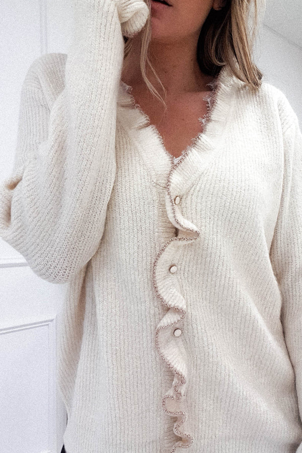 Sandy Cardigan Cream