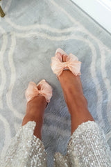 Frenchie Bow Heels | Pink