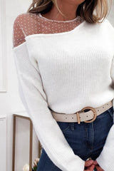 Jenna Soft Knitted Jumper | Cream