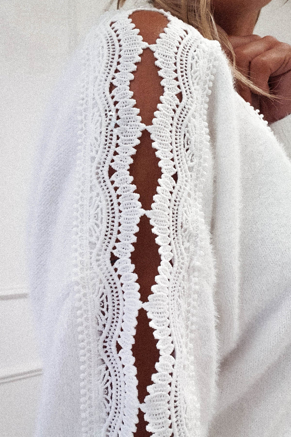 Penny Soft Lace Jumper