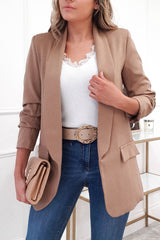 Darcia Tailored Blazer | Camel