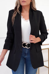 Darcia Tailored Blazer | Black