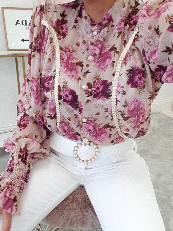 Lumiere Printed Blouse | Floral Print