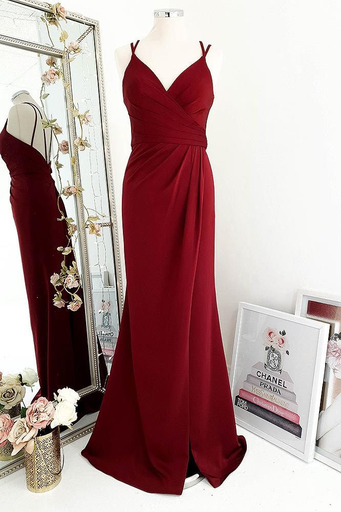 Kate Gown Burgundy