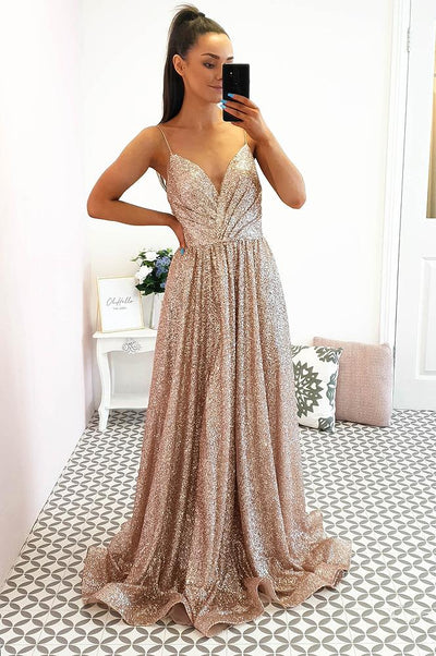 Ella Gown Rose Gold