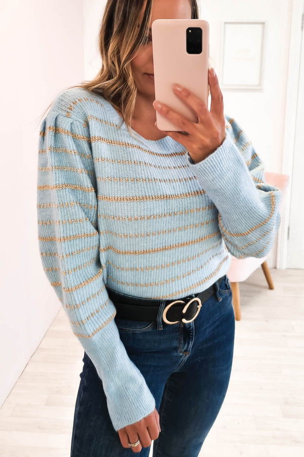 Cosy Charlie Jumper Blue
