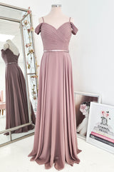 Sorrento Bridesmaid Dress Mauve