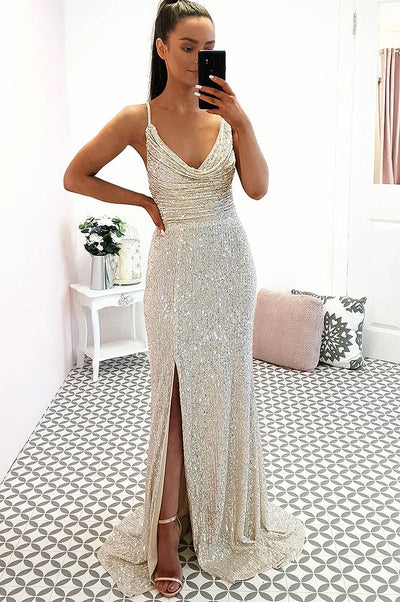 Alamour Gown Champagne