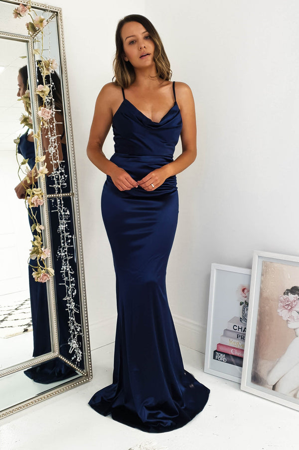 Glamour Girl Gown Navy