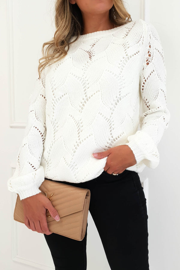 Roxi Jumper White
