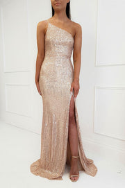 Monroe Maxi Dress Gold Sequin