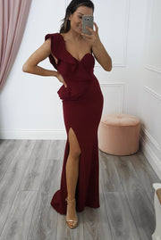 Candice Maxi Dress Wine