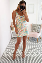 Sonia Printed Mini Dress