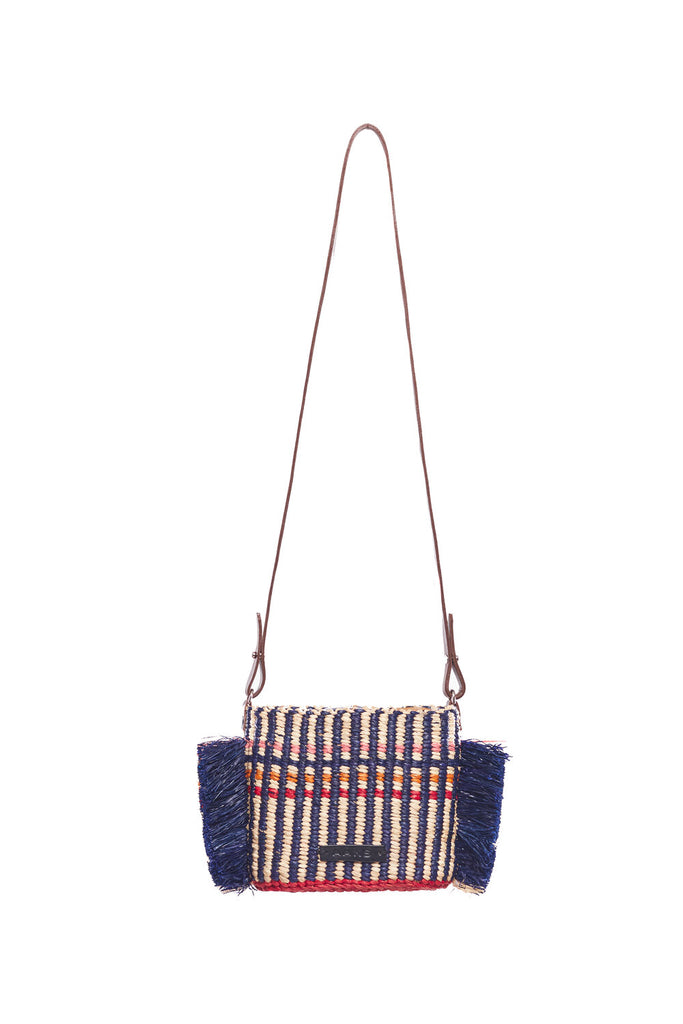 HANA MINI STRIPE WOVEN BAG
