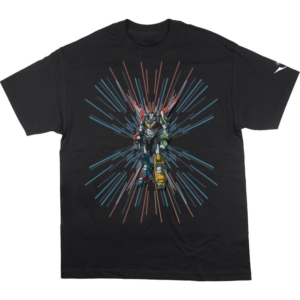Voltron Power Force Black Tee