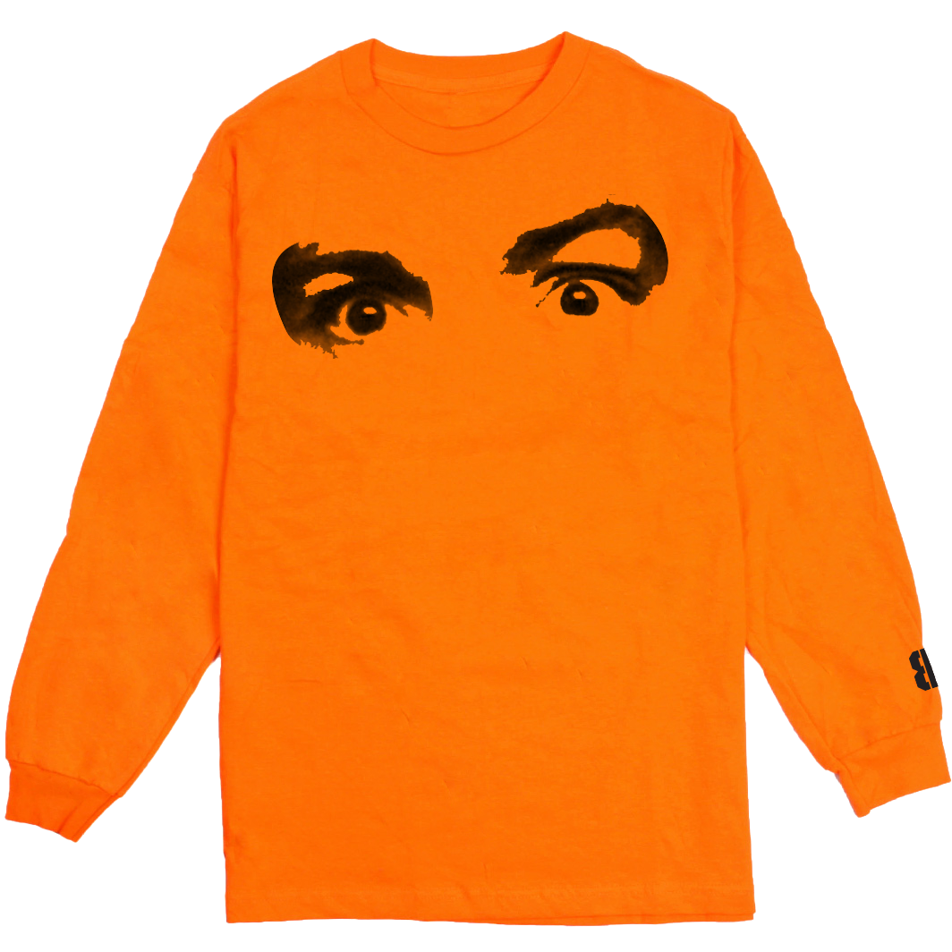Charlie Long Sleeve Tee (Orange)