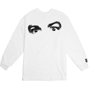 Charlie Long Sleeve Tee (White)