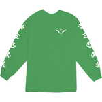 Voltron Power Five Green Longsleeve Tee