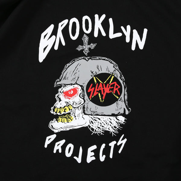 BP x Slayer Skull Helmet Tee (Black)