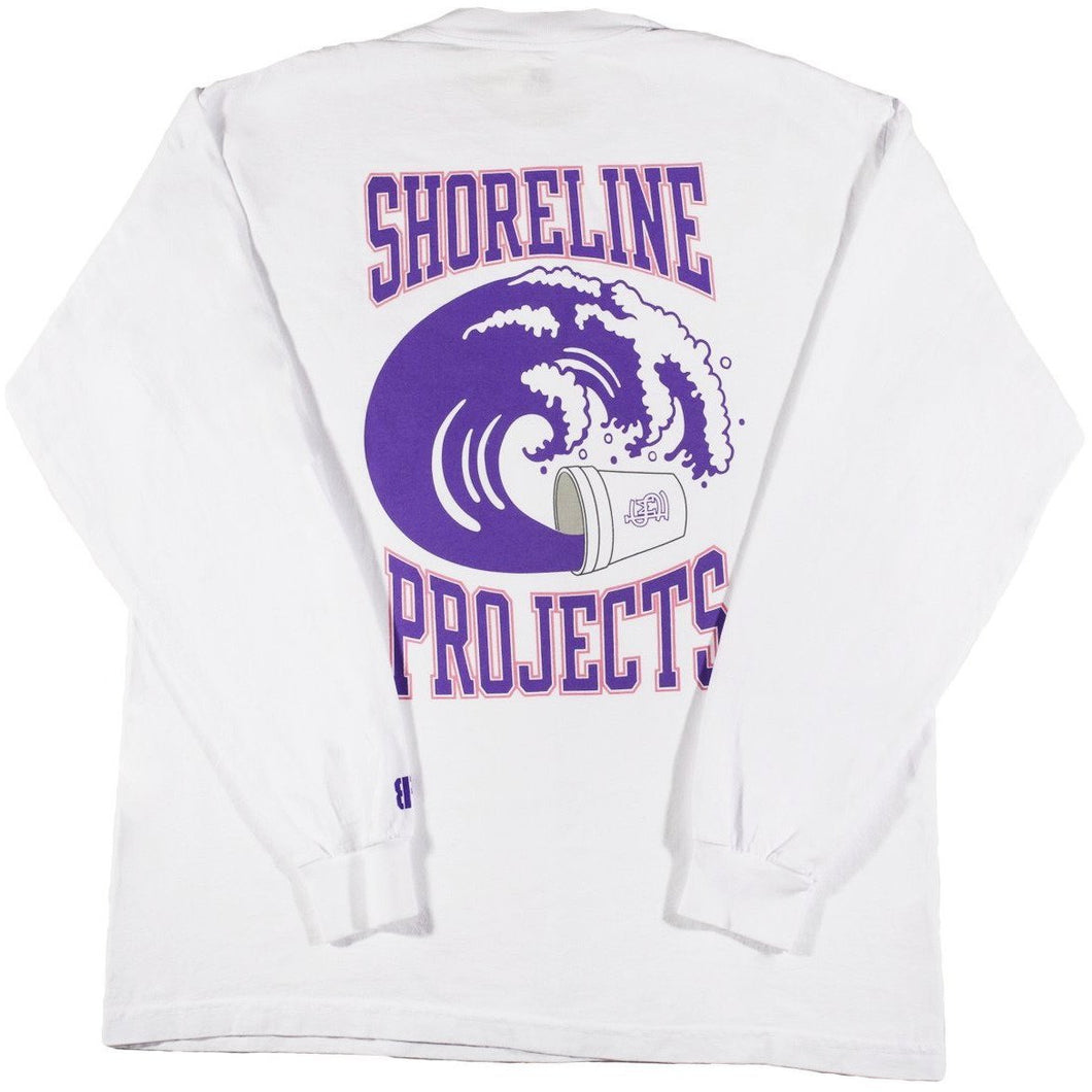 Brooklyn Projects x Shoreline Mafia Wavy L/S Tee