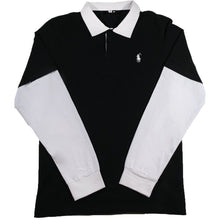 Load image into Gallery viewer, Essex L/S Layered Pique Polo Shirt