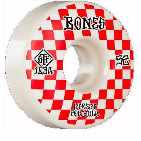 Bones STF Checkered Patterns Wheels