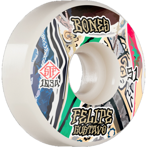 Bones STF Pro Gustavo Bed-Stuy Wheels