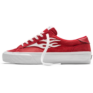 Straye Logan Suede Red