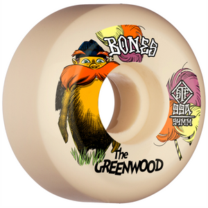 Bones STF Sidecut The Greenwood Wheels