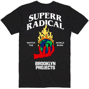 Brooklyn Projects X Superrradical Burn Tee