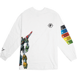 Voltron White Longsleeve Tee