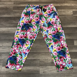 THE QUIET LIFE TAKE A BREAK FLORAL BEACH PANT